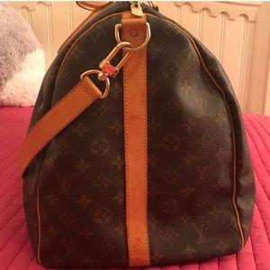 acacb53b55f1 Louis Vuitton Bags - Authentic LV Duffle Bag Keepall 55